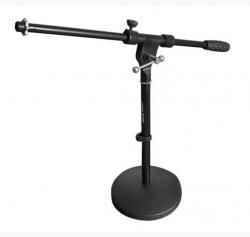 Gémes mikrofonállvány, kőrtalpas, alacsony, MS023