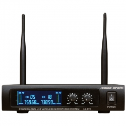 Voice-Kraft UHF kézi mikrofon szett, 2 db mikrofonnal, LS-670