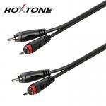 2xRCA - 2xRCA kábel, 6m, RACC130L6
