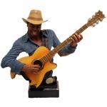 Mellszobor gitáros, BJ-24-3