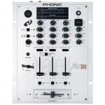 Phonic DJ mixer, 3x Phono/Line/Mic MX-300