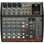 Phonic Keverőpult, 4 Mo./2 St. csat., EFX, USB Lej., AM440DP