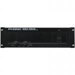 Phonic Végerősítő, 2x1200W/4 Ohm, MAX3500