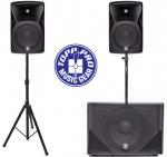 Topp Pro 2.1 Aktív hangfal szett (600+2x240W), X-MAXX1012A