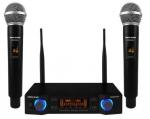 Voice-Kraft UHF kézi mikrofon szett,2 mikrofonnal, PAW2000U